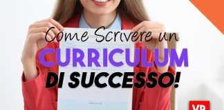 curriculum di successo