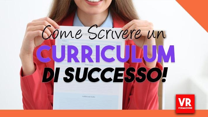scrivere un curriculum di successo