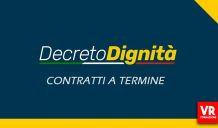 CAMBIA IL CONTRATTO A TEMPO DETERMINATO CON IL DECRETO DIGNITA'