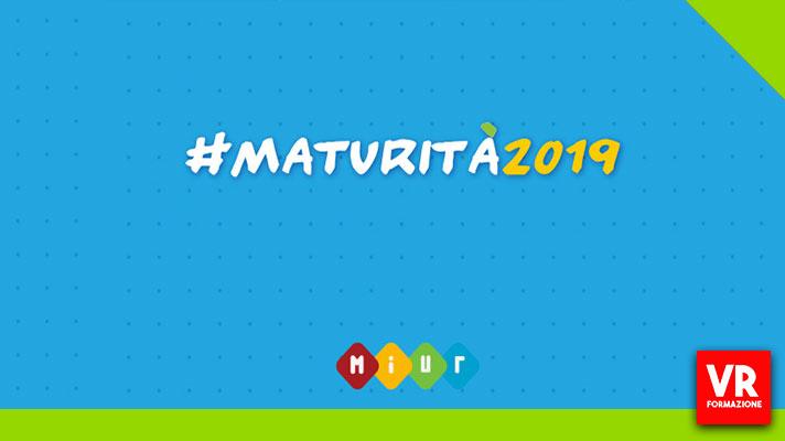 MATURITÀ 2019