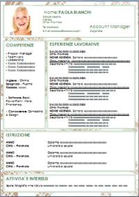 modelli-curriculum in word da compilare-3