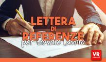 lettera di referenze