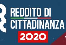 Reddito di cittadinanza 2020